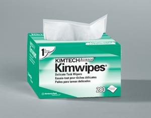 KimWipes EX-L Delicate Task Wipers, Disposable, Popup Box, 4½