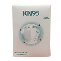 Non Medical KN95 Face Masks, Bok of 50