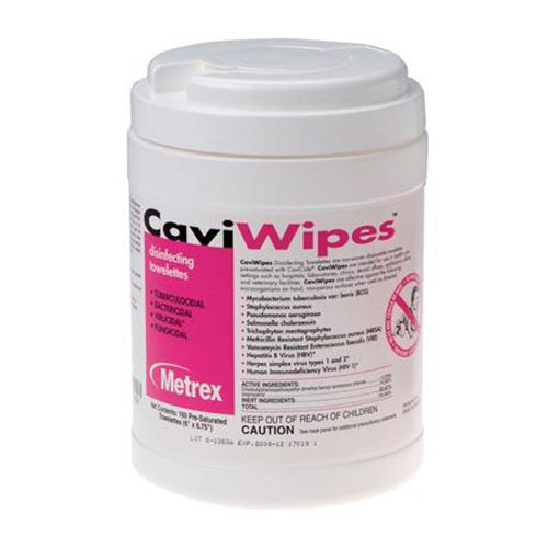 CaviWipes, 160 Wipes, 12 canisters/cs (091263)