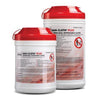 "Plus Germicidal Disposable Cloth, X-Large,7½"" x 15"", 65/canister, 6 can/cs (091256)"