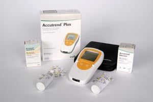 Roche Accutrend Cholesterol Control 2 Levels (Minimum Expiry Lead is 90 days) (Ships on ice)
