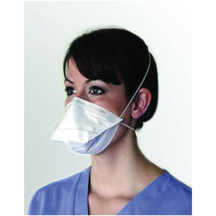 Particulate Respirator & Surgical Mask N95 ProGear ASTM Level 3 Regular Sz 50/Bx