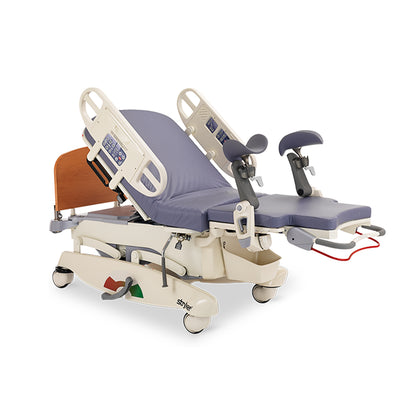 Refurbished Bed, Birthing Stryker Steeringsys Automatic Pelvic Tilt D/S Bed, Birthing Stryker Steeringsys Automatic Pelvic Tilt D/S