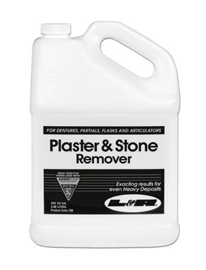 Plaster & Stone Remover, Gallon Bottle, 4/cs