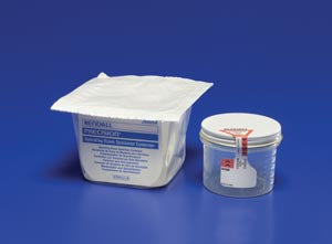 "Graduated Specimen Container, 2½""H x 2¼""W, Sterile, O.R. Packaged in Blister Pack, 4.5 oz, 100/cs"
