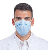 Sultan COM-FIT® Super High Filtration Ear Loop Mask, Blue, 40/bx