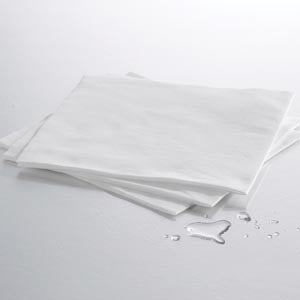 Fanfold Drape Sheet, White, 36