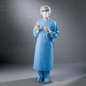 Surgical Gown, Towel, Sterile, Small, 32/cs