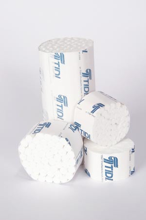 Cotton Roll, #2 Medium, Non-Sterile, 3/8