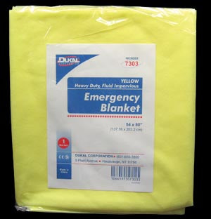 Emergency Blanket, 54 x 80