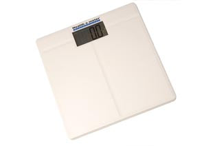 Digital Scale, Floor, 397 lb/180 kg Capacity, 12¼