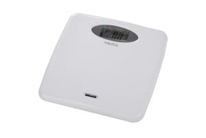Digital Scale, Floor, For Telemedicine, 440 lb/220 kg Capacity, 12 5/8
