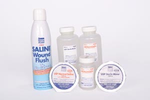 Saline Wound Flush, Spray Can, 7.1 oz, 12/cs