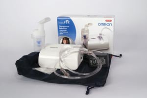 Virtual Valve Technology (VVT) Nebulizer Kit, Mouthpiece, Tubing, AC Adapter, Carry Bag & Filters