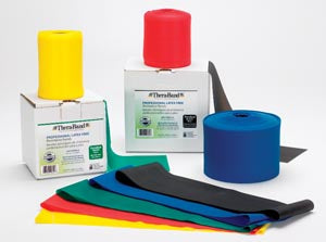 Resistance Band, Black/ Special Heavy, 25 Yd Dispenser Box, Latex Free (LF), 12 ea/cs (020524)