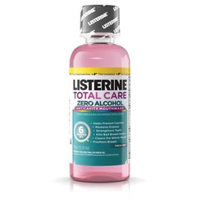 Listerine Total Care Zero™ Mouthwash, Alcohol Free, Fresh Mint, 95mL (3.2 oz), 24/cs