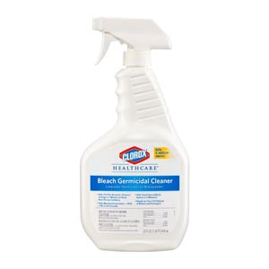 Spray, Bleach Germicidal Cleaner, 32 oz, 6/cs