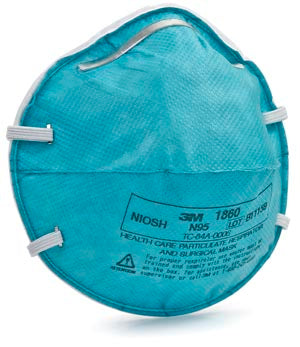 Regular Particulate Respirator Mask Cone Molded, 20/bx, 6 bx/cs