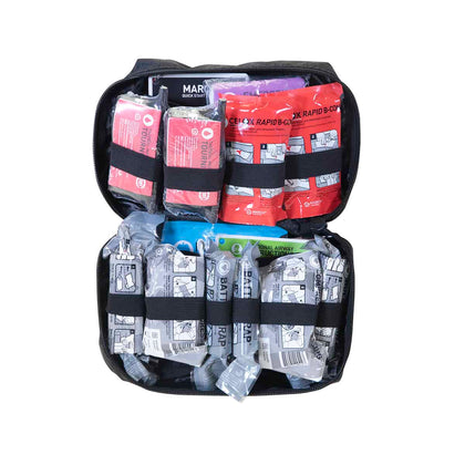 Mojo® Crisis Responder Trauma Kit, Black - Advanced Level