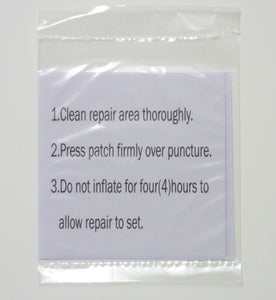 SimplySleeper Air Bed / Air Mattress Repair Patch Kit (2 Patches)