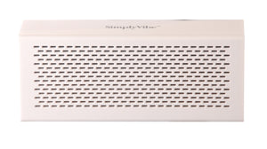 SimplyVibe V5-BT1-White Wireless Bluetooth Speakers with Built in 18 Hour Battery Hands-Free Speakerphone (White)