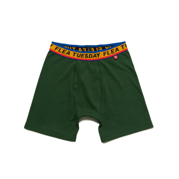 """TUESDAY FLEA"" BOXER BRIEF"