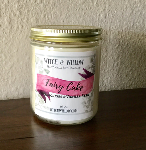 FAIRY CAKE 16 oz Jar
