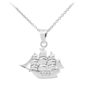 Sailboat Pendant in Sterling Silver