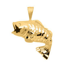 Load image into Gallery viewer, Tropical Fish Pendant In Gold