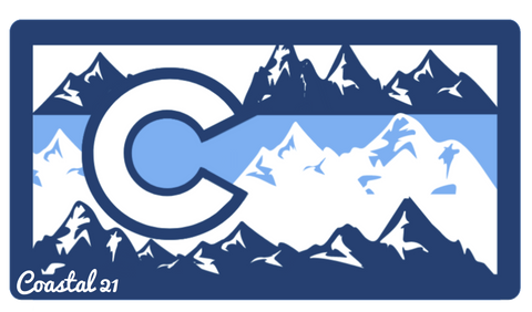 Colorado Mountain Sticker