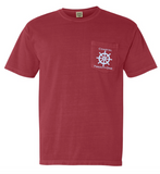 Coastal 21 Nautical Pocket Tee