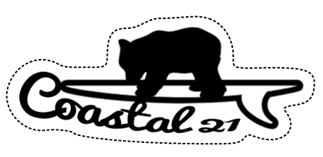 Coastal Cub Sticker