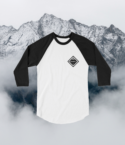 3/4 Adventure Logo Baseball Tee