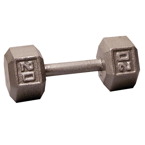 Body-Solid Hex Dumbbells