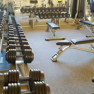 EcoFlex 7mm / 10mm Gym Floor by PaviFlex
