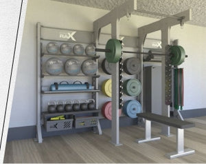 Gym Rax Squat Double Storage