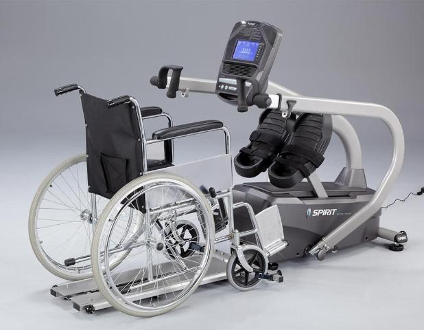 Spirit Medical MS350 Total Body Stepper Wheelchair Access