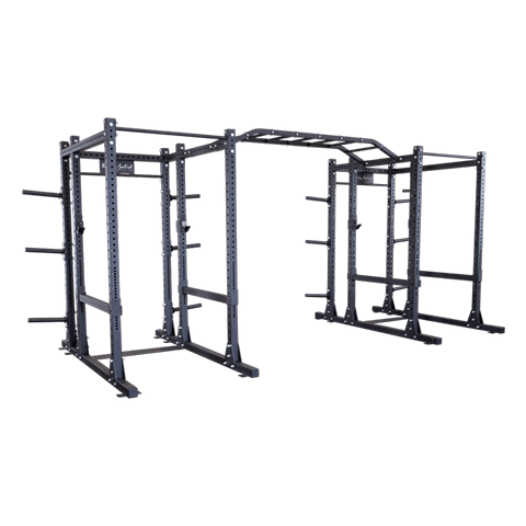 Body-Solid Commercial Extended Double Power Rack Package