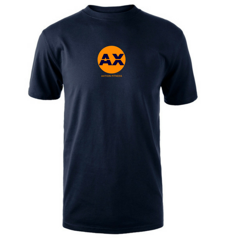 The Axtion Tee (AX)(Navy Blue)