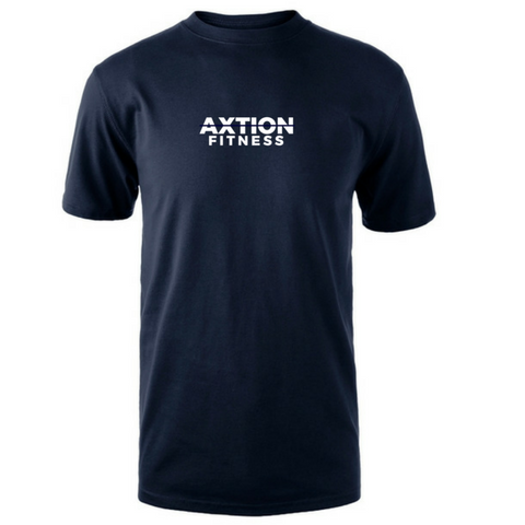 The Axtion Tee (Navy Blue)
