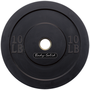 Body-Solid Olympic Rubber Bumper Plates
