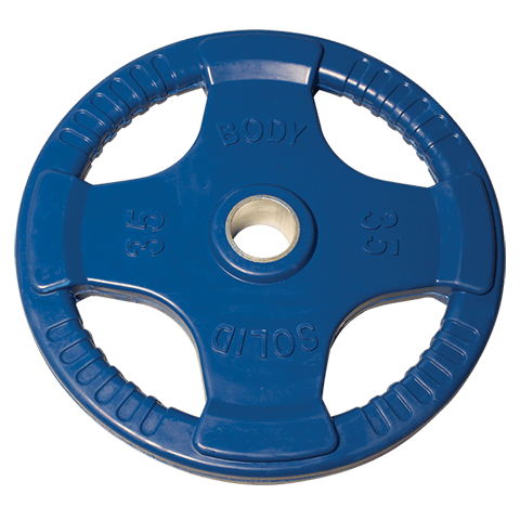 Body-Solid Rubber Grip Olympic Plates