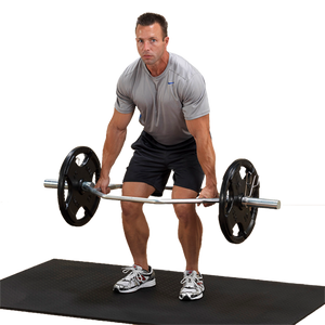 Body-Solid Olympic Shrug Bar