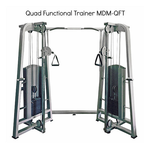 MuscleD Quad Functional Trainer