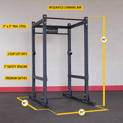 Body-Solid Commercial Power Rack