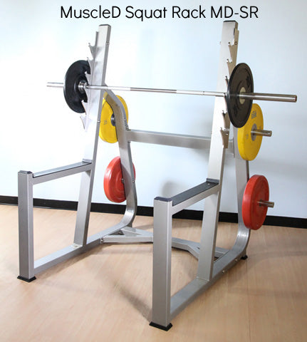 MuscleD Free Weight Equipment – MD Series