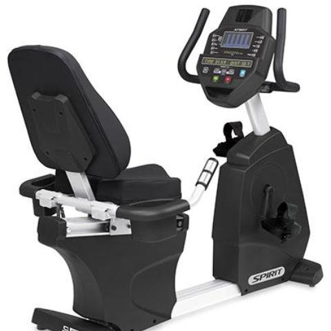 Spirit CR800 Studio Recumbent Bike