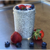 Chia & Blueberries pudding