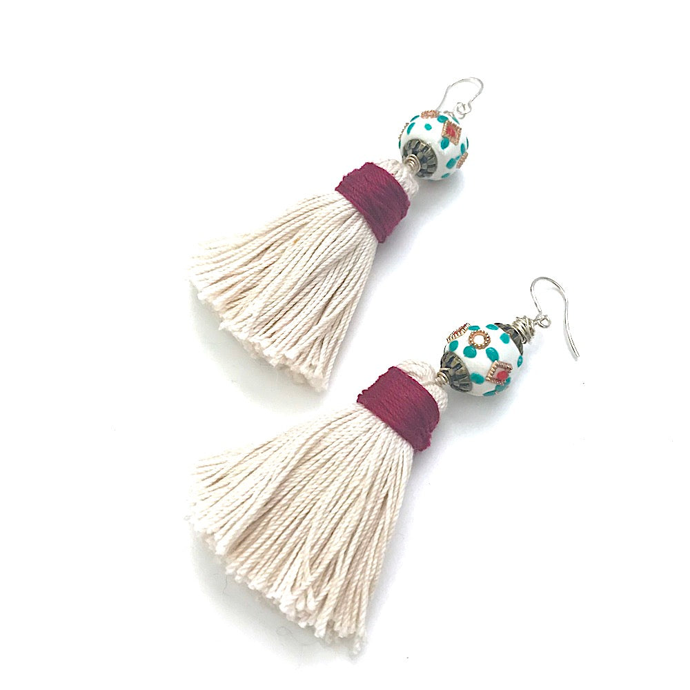 Sweet Tassel Earrings