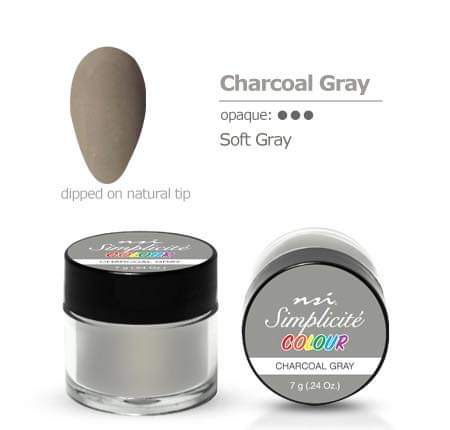 NSI Simplicité colour pot Charcoal Gray 7g